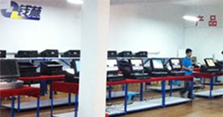 微巴科技访客机产品生产线