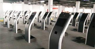 微巴科技排队机产品生产线