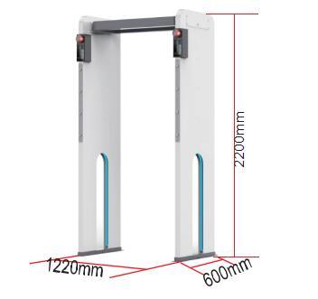 通过式体温检测门外形尺寸